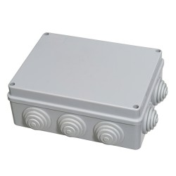 Caja Estanca Superficie Con Tornillo 190x140x70 mm.