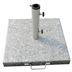 Base Sombrilla Granito 35 kg. / 450x450 mm.