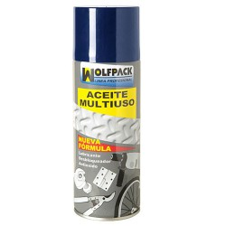 Aceite Multiuso Triple Accion Wolfpack Spray  520 ml.